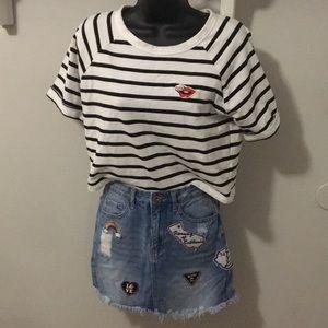 Forever 21 Skirts - Forever 21 Jean Mini Skirt